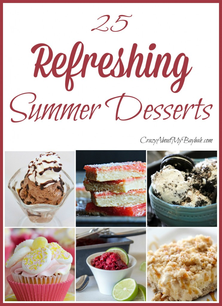 25 Yummy and Refreshing Summer Desserts