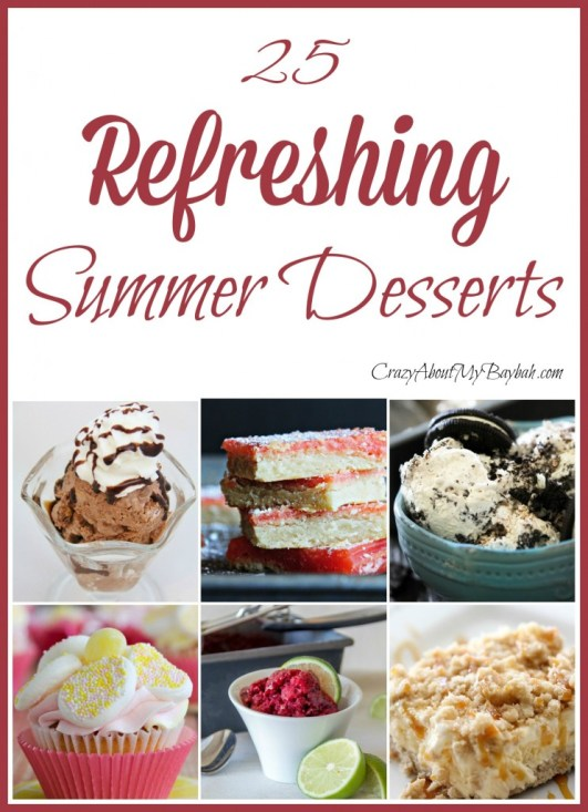 25 refreshing summer desserts