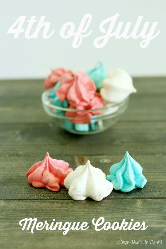 4th of July Meringue Cookies Recipe