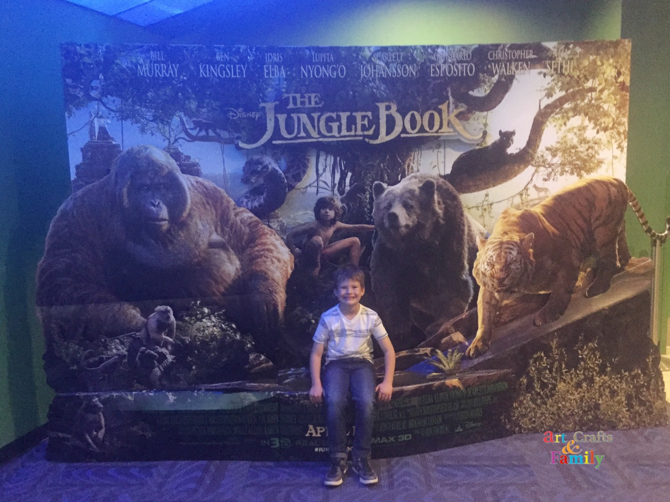 Willowbrook Amc 24 See The Jungle Book In Dolby Cinema At Amc Prime Art Crafts Amp Family