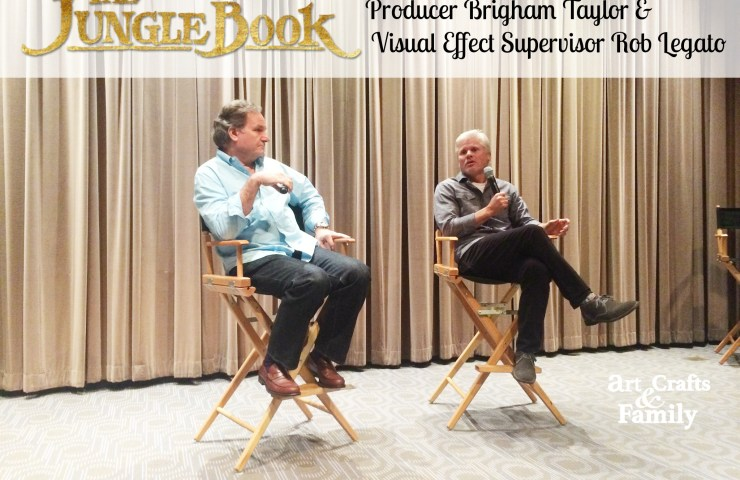 A Chat with The Jungle Book Producer Brigham Taylor and Visual Effect Supervisor Rob Legato