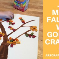 Make A Fall Tree With Goldfish Crackers #GoldFishMoments #Ad