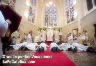 Oración por las vocaciones