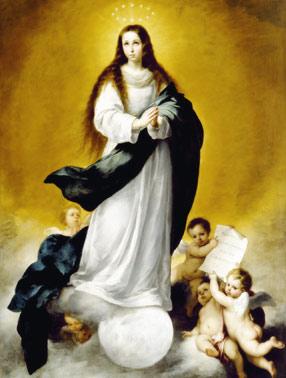 Oración a la Inmaculada Concepción