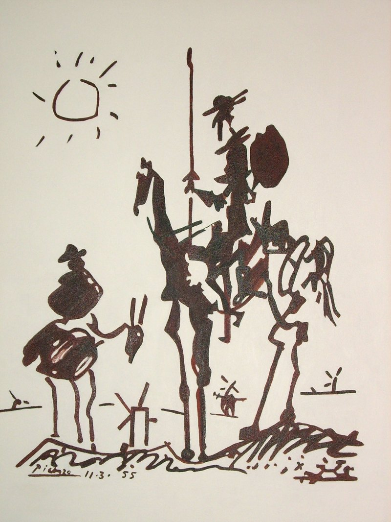 Large Of Picasso Don Quixote