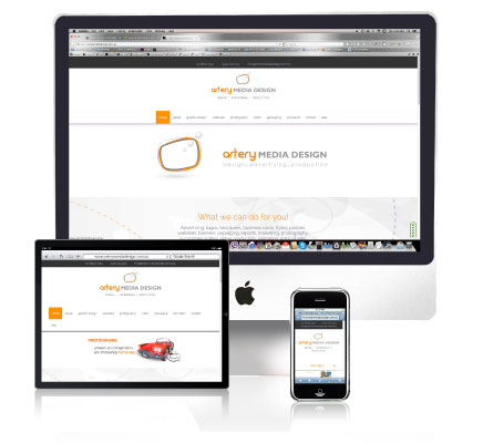 websites responsive websites Artery Media Design - Responsive Media