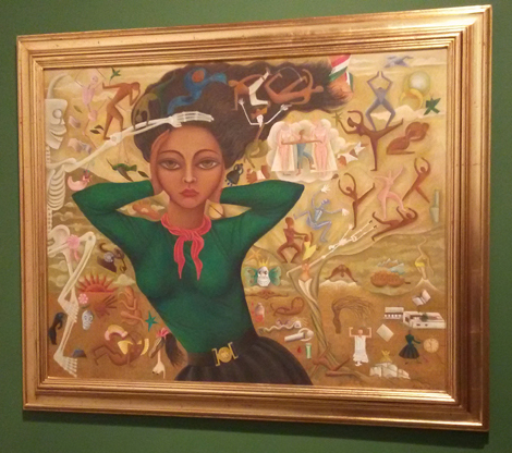 Rosa Rolanda - Autorretrato, 1952