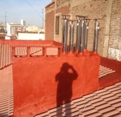 NUEVAS CHIMENEAS INOX Y SOMBRERETES EN SUNES