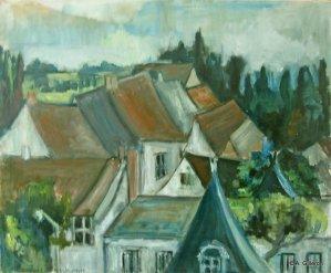 AET DAD - Les toits de Chilly 60x73 cm01