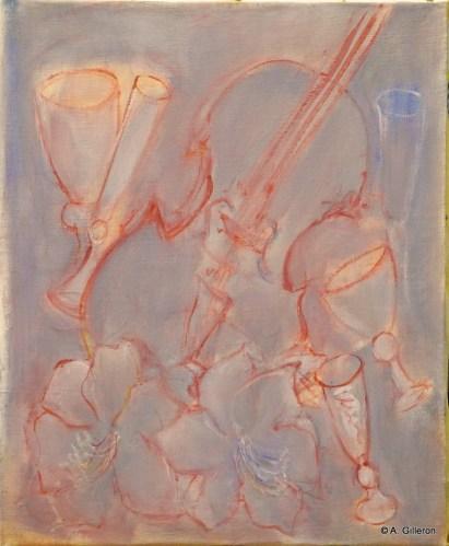H33 - Concerto pour flûtes (46 x 38 cm)