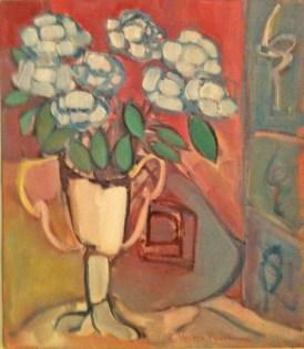 Nature morte au vase blanc 2