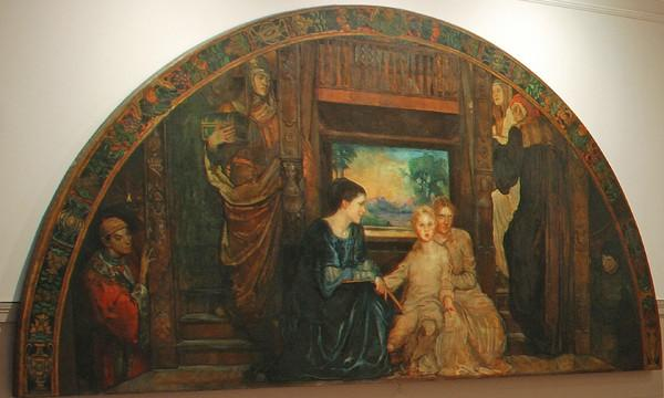 Violet Oakley The Building of the House of Wisdom - Artwire Press