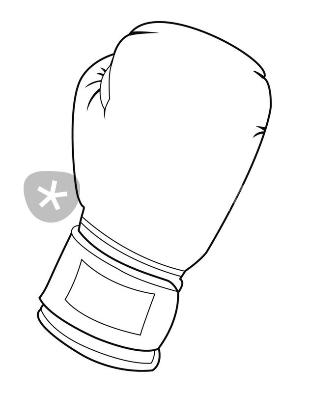 Gloves Coloring Pages Clipart Best