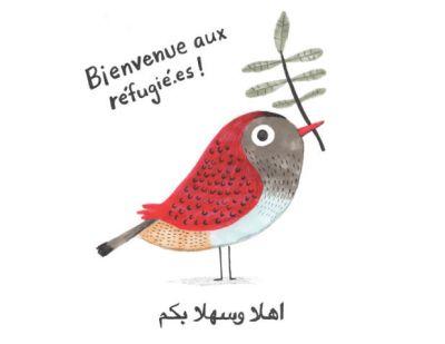 Art_For_Syria-AFS035-Elise_Gravel-Bienvenue_aux_refugiees-web_letter
