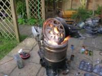 Homemade Metal Melting Furnace - Homemade Ftempo