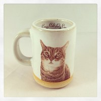 Tabby Cat Espresso Cup by Chris Hudson and Shelly Hail ...