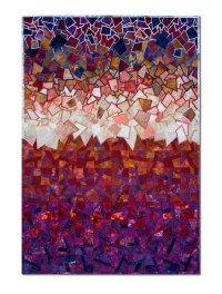Red Storm by Laurie dill-Kocher (Fiber Wall Art) | Artful Home
