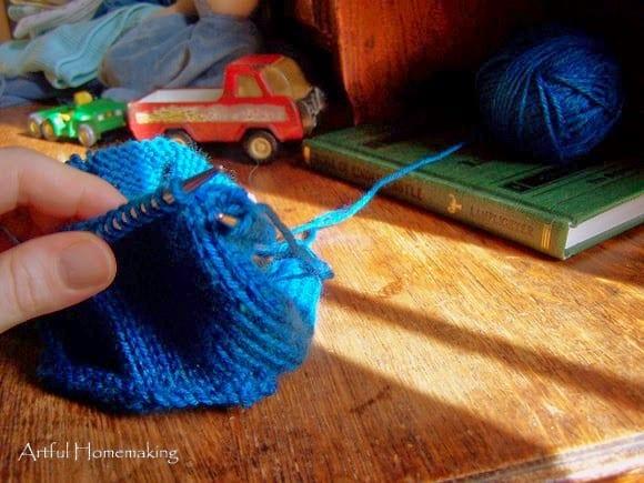 Fall Sewing And Knitting Artful Homemaking