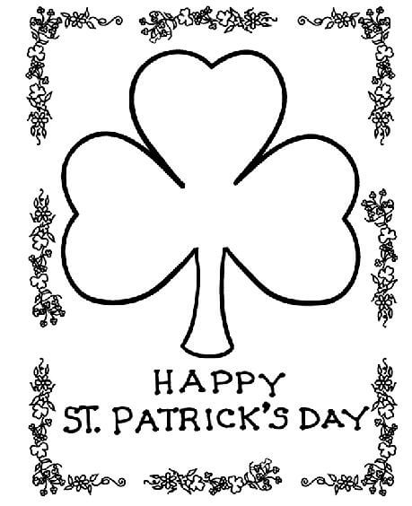St Patrick\u0027s Day Coloring Pages and Free Printables - Artful Homemaking