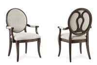 Saint Germain Oval Back Side Chair