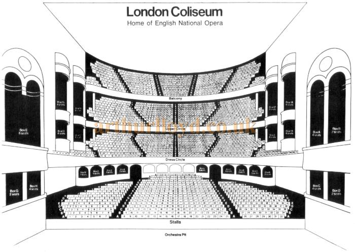 The London Coliseum, St Martin\u0027s Lane, London, WC2
