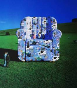 (Storm Thorgerson – Calender Chair [Personal Art])