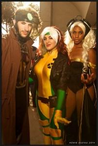 X-Men cosplay