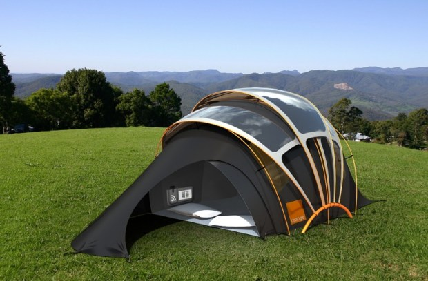 solar tent