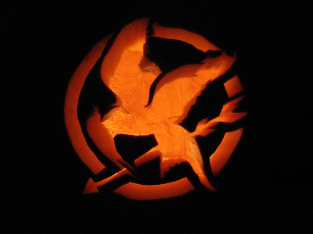 hunger games pumpkin