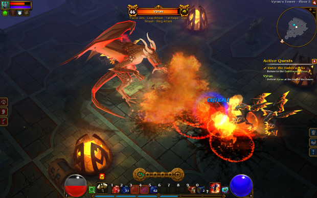 torchlight II dragon