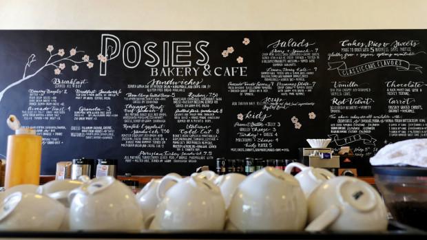 posies menu board
