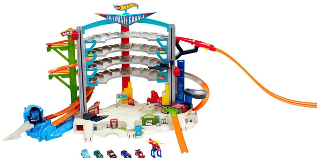 The Hot Wheels Ultimate Auto Garage is one of the Best Toys for Christmas 2015