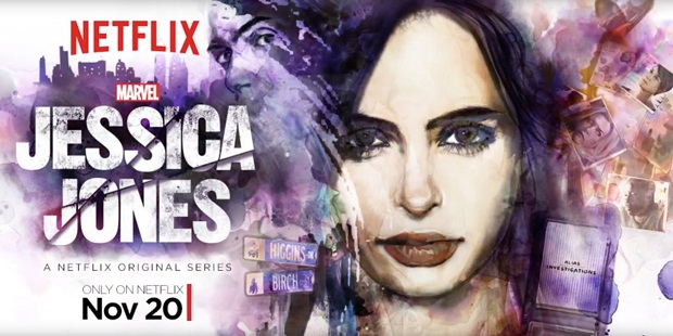 Jessica Jones Debuts from the Shadows