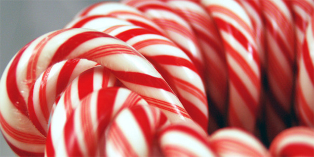 A collection of candy canes, (www.spanglercandy.com)