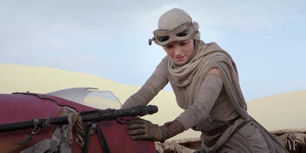 Star Wars Daisy Ridley as Rey