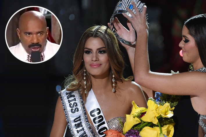 A simple mistake my Steve Harvey, (The Wrap).
