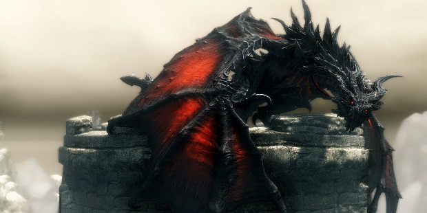 Video Games That Do Not Die Skyrim dragon