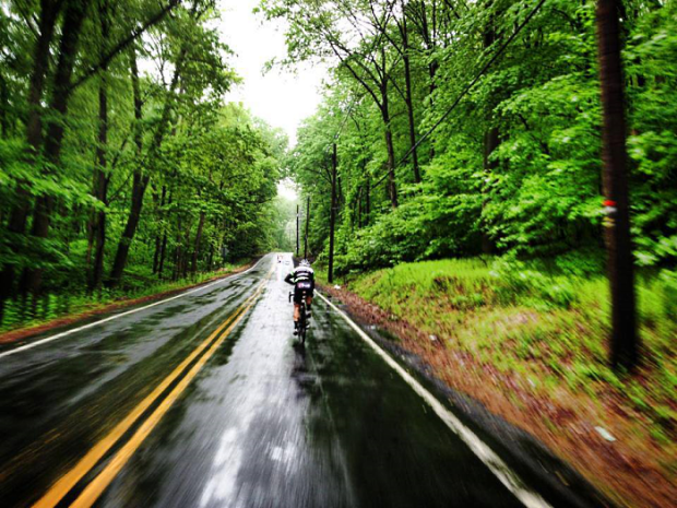 bicycle routes: Gran Fondo, New York