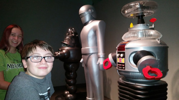 robots are coming to a museum near you! children with robots