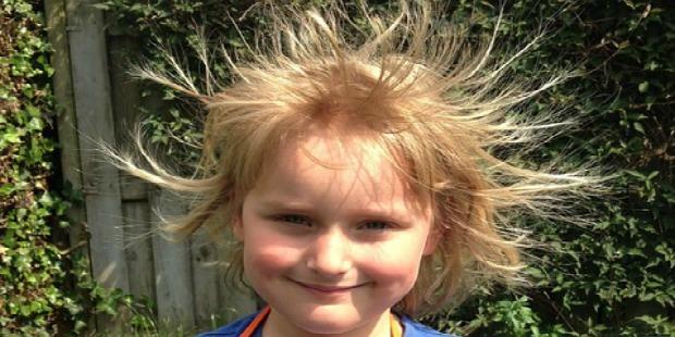 strange holidays: static electricity day