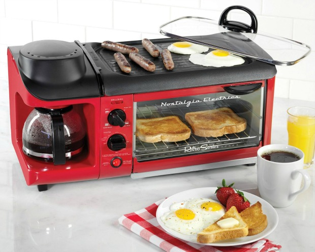 amazing inventions: 3-in-1 breakfast skillet