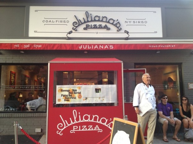 National Pizza Day: Juliana's Pizza, Brooklyn, New York