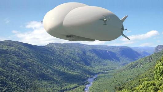 Airship superblimp concept render
