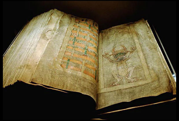 Codex Gigas, aka the Devil's Bible