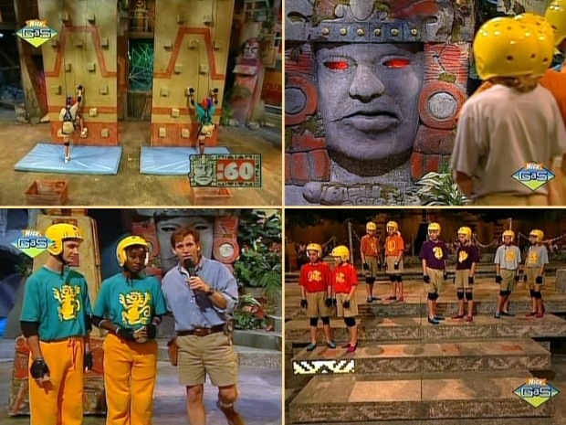 legends of the hidden temple: Challenges in the original television show