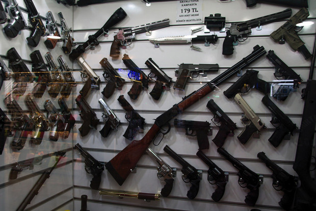 big oil: gun store
