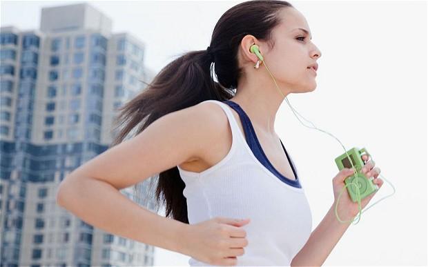 libido: woman running