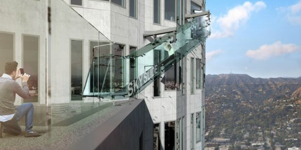 Glass Slide…Who Needs An Amusement Park?