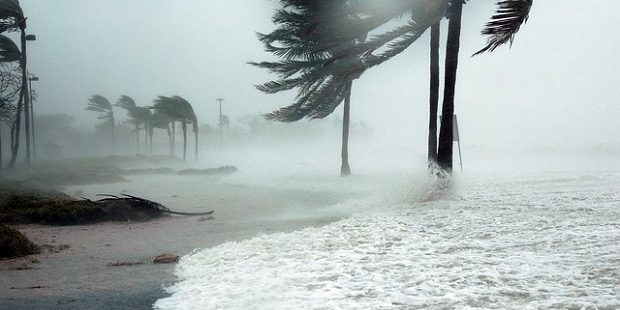 Photo of Hurricane Dennis in Key West