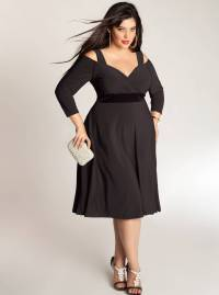 Styling Plus Size Little Black Dresses for Elegant Looks ...